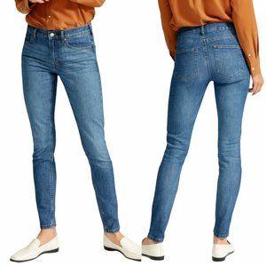 Everlane NWT Mid-Rise Skinny Jean 26 Regular Blue
